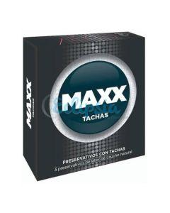 PRESERVATIVO MAXX TACHAS X3