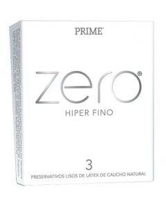 PRESERVATIVO PRIME ZERO - HIPER FINO - EL MAS FINO DE PRIME!