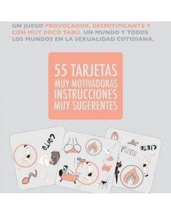 SEXIT JUEGO DE MESA 3 EN 1 VALE TODO 55 TARJETAS